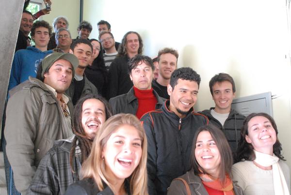 Participantes do II Festival de Música da UFSC, que acontece nos dias 27 e 28 de agosto