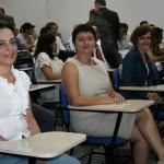 Reitoras eleitas participam da cerimônia na UFSC Joinville.