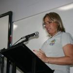 """Luciana Reginato Dias, servidora técnico-administrativa do CEM: """"somos uma família, às vezes divergimos opini~"""