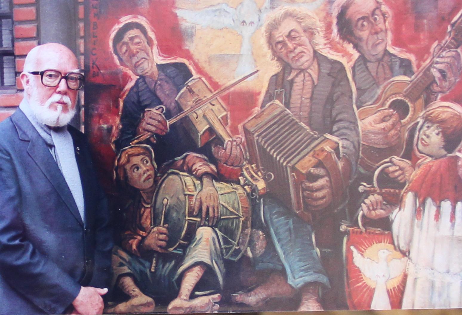 Unesc homenageia artista plástico Willy Zumblick