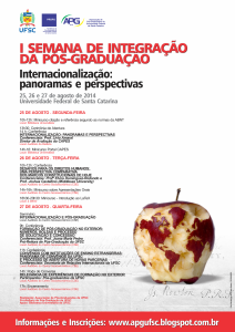 UFSC_APG_PRPG_Cartaz_A3_I_Semana_Integracao_2014_2