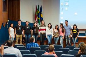 Alunos do Ensino Médio mostraram seus trabalhos  - Foto Henrique Almeida
