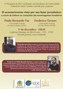 Palestra com Paulo B. e Fred Tavares