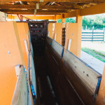 Centro de Manejo de Gado de Corte, obra financiada pela UFSC e CT-Infra para o trabalho com animais de grande porte. (Foto: Jair Quint/Fotógrafo da Agecom/DGC/UFSC)