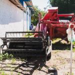 Máquina adquirida em 2014 com recursos CT-Infra para a Fazenda Ressacada. (Foto: Jair Quint/Fotógrafo da Agecom/DGC/UFSC)