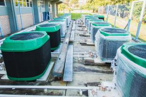 Aquecedores foram instalados. Foto: Jair Quint/Agecom/DGC/UFSC
