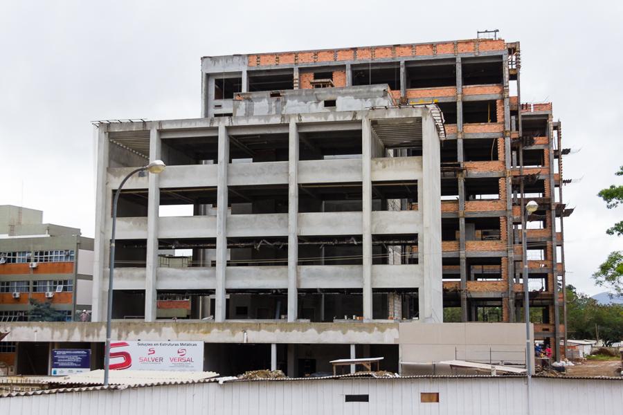 Mais de R$ 40 milhões serão investidos para construção dos novos blocos e da subestação do CCB. Foto: Henrique Almeida/Agecom/UFSC
