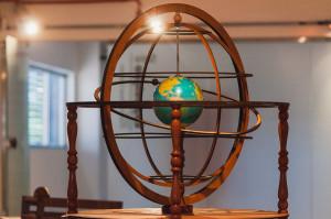 A esfera amilar é a que mais chama a atenção dos alunos. Foto: Jair Quint/Agecom/DGC/UFSC