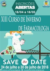 13º Curso de Inverno de Farmacologia @   | Florianópolis | Santa Catarina | Brasil