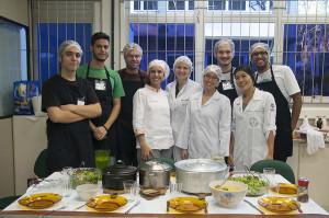 Oficina no dia 27 de junho no Laboratório de Técnica Dietética, CCS. Foto: Ítalo Padilha/Agecom/UFSC