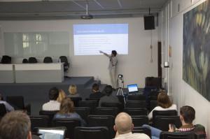Apresentação do projeto Altruísmo Eficaz (Foto: Ítalo Padilha/Agecom/UFSC)