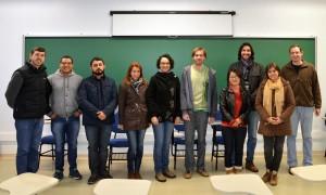 Primeira turma do mestrado em Ecossistemas Agrícolas e Naturais do campus UFSC Curitibanos. (Foto: Divulgação)