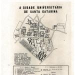 Plano da cidade universitária de 1959