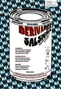 Cartaz_Teatro_DERIVADOS DA SALSICHA