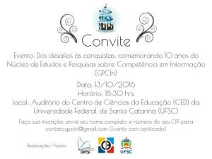 Convite GPCIn