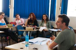 Professor Mauro Titton, do curso de Pedagogia da UFSC. Foto: Daniela Caniçali/Agecom/UFSC.