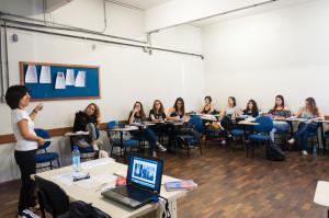 Professora Eneida Oto Shiroma, do curso de Pedagogia da UFSC. Foto: Daniela Caniçali.