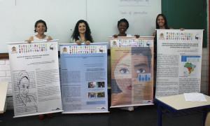 Cursistas do GDE durante apresentação de Trabalhos de Conclusão de Curso (TCCs). (Foto: Mayra Cajueiro Warren/Agecom/UFSC)