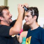 E teve até quem já passou por brincadeiras após a etapa concluída (Foto: Henrique Almeida/Agecom/UFSC)