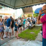 Vestibulandos, familiares, professores e amigos aguardaram a divulgação do resultado (Foto: Henrique Almeida/Agecom/UFSC)
