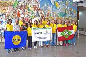 Foto oficial da despedida dos Rondonistas (Foto: Divulgação)