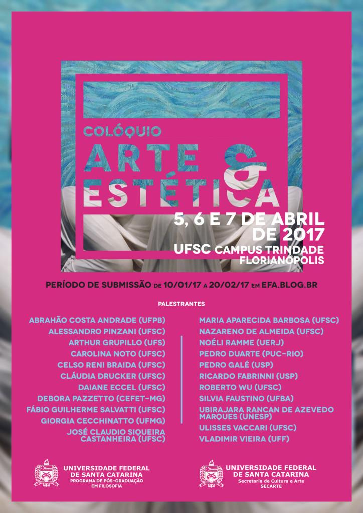 Colóquio Arte e Estética @ CFH - Centro de Filosofia e Ciências Humanas
