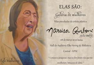 Convite elaborado por Maria Isabel Amboni.