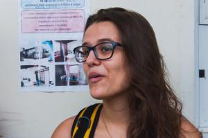 Maria Eduarda de Souza, estudante do curso de Cinema. Foto: Giovanna Olivo