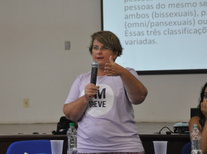 Professora Cristina Scheibe Wolff. Foto: Lavínia Kraucz/Agecom/UFSC)