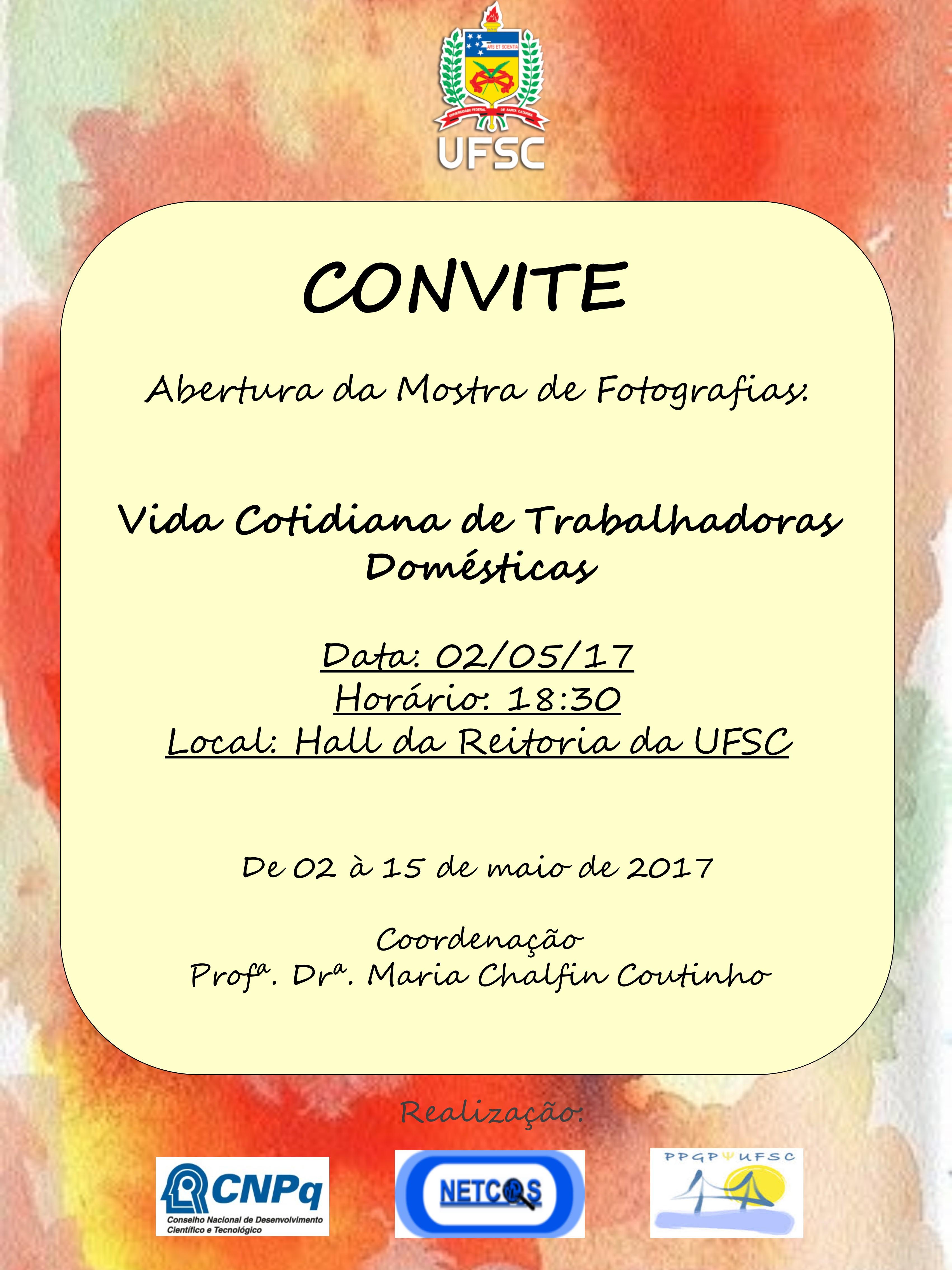Convite Mostra