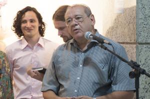 Ex-reitor Antônio Diomário de Queiroz. Foto: Ítalo Padilha/Agecom/UFSC.