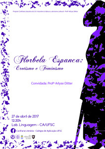 Feminismo Arlyse Detter (cartaz)