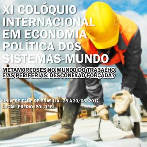 XI Colóquio Internacional em Economia Política dos Sistemas-Mu