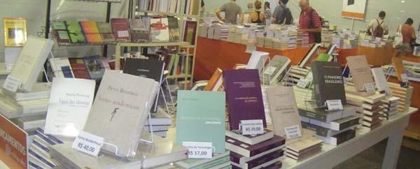 Feira de Livros da Editora da UFSC