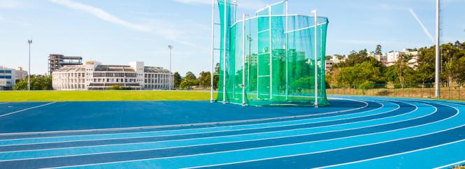 Nova pista de atletismo - Foto Henrique Almeida-12