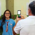 Tirar uma foto com a lista pra guardar de recordação? Pode também! (Foto: Henrique Almeida/Agecom/UFSC)